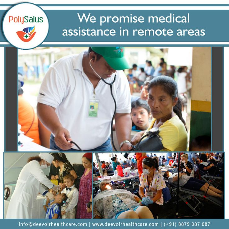 #MedicalAssistance wherever you need it! #Polysalus #dEEVOiR #HealthCare