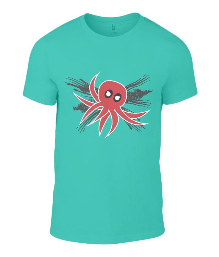 Akkorokamui Octopus t-shirt