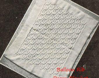 baby matinee vacht instellen vintage breien patroon door Ellisadine