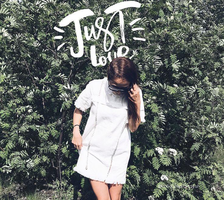 Love Street style Fashion White Dress Summertime Summer stylish