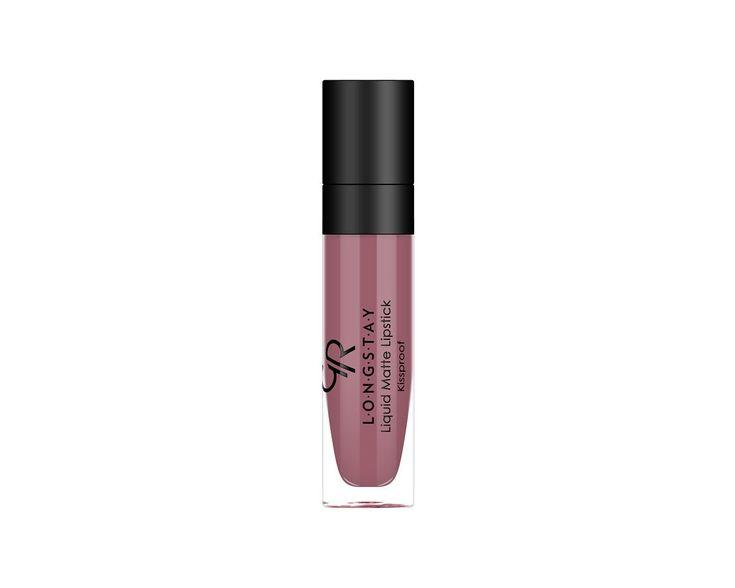 Longstay Liquid Matte Lipstick - Matowa pomadka do ust w płynie - Golden Rose  nr 3