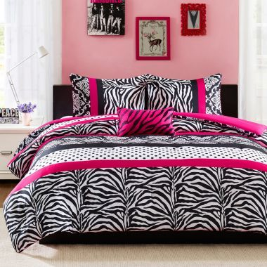 24 best zebra and polka dot bedroom images on Pinterest ...