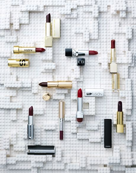 Beauty in Marie Claire Magazine NL 2015 Photography by Frank Brandwijk   'Lego Sticks'