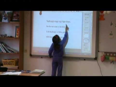 Ismerkedés a betűkkel, 1. osztály - YouTube