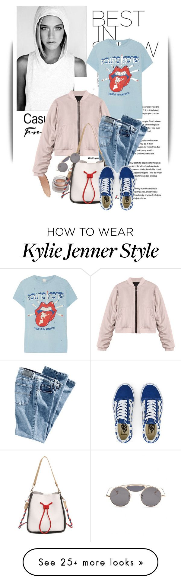 """""""Untitled #1475"""" by maja-k on Polyvore featuring MadeWorn and Vans"""