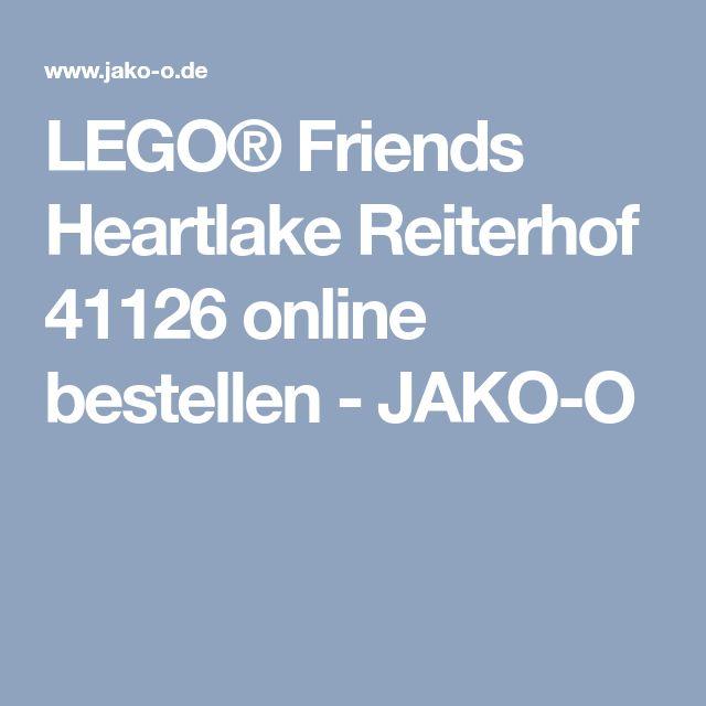 LEGO® Friends Heartlake Reiterhof 41126 online bestellen - JAKO-O