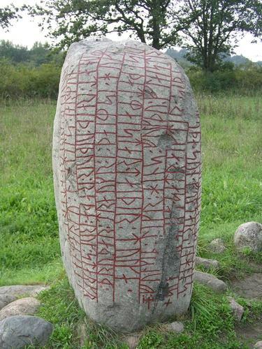 Runestone near Karlevi, Öland, Sweden - courtesy of Dariusz Dębicki
