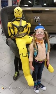 cool crash test dummy costume - Halloween Home Costumes