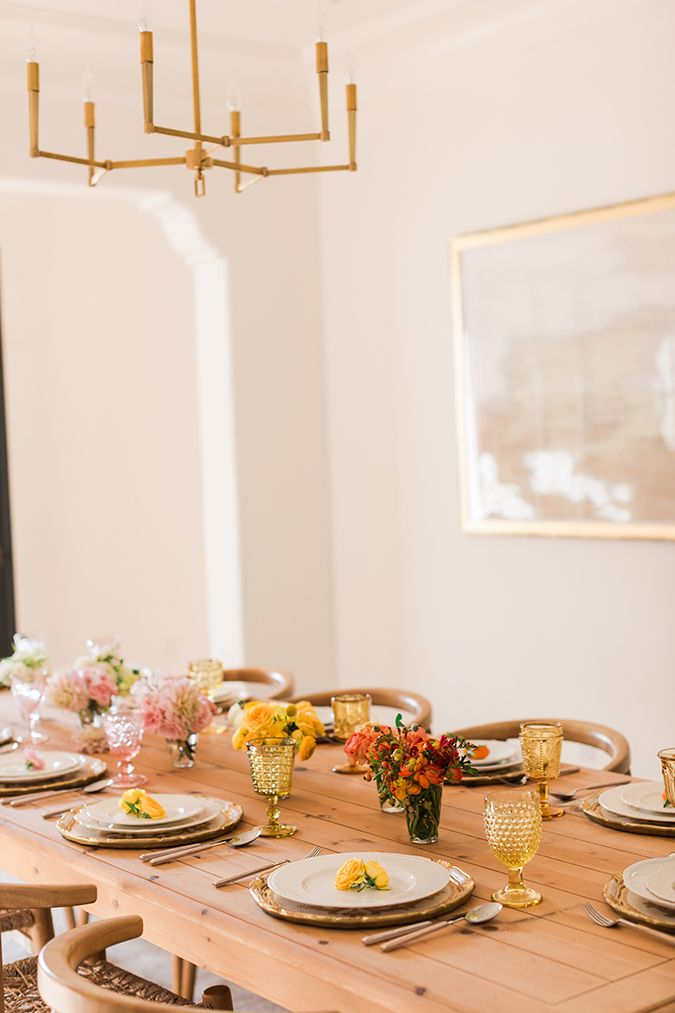Inspired Idea An Ombre Fall Tablescape 1049