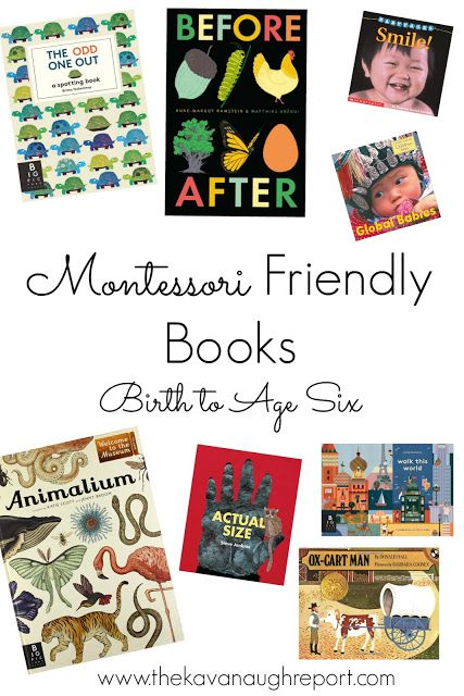 http://www.thekavanaughreport.com/2016/03/montessori-books-from-birth-to-six.html