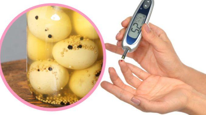 Un œuf avec quelques gouttes du vinaigre vous suffisent pour contrôler votre diabète. Découvrez comment ?