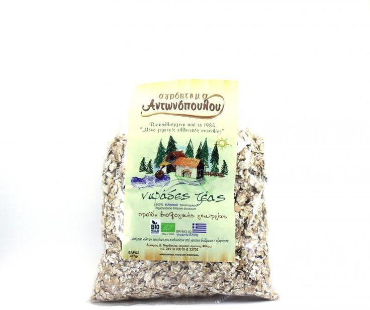 ''ANTONOPOULOS FARM'' Zea flakes The Prehistoric eek Cereals triticum   BIO