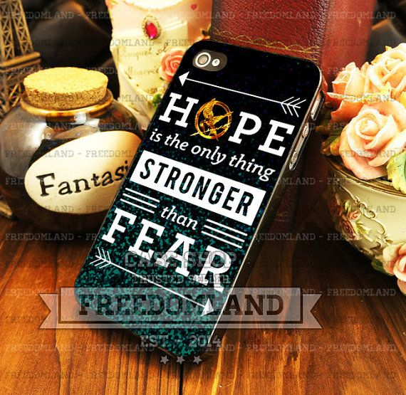 Hunger games hope quotes - iPhone 4/4s/5/5S/5C Case - Samsung Galaxy ...