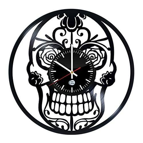 Shop https://goo.gl/1mQJNF   Skull Design handmade vinyl record wall clock - Best gift    38.99 $  Go to Store https://goo.gl/1mQJNF  #Clock #Design #Gift #Handmade #Record #Skull #Vinyl #Wall