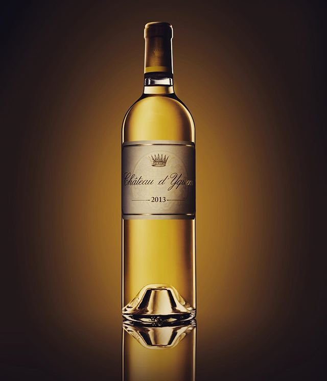 Château d'Yquem 2013, the wine of the vintage, as of today in the spotlight.
