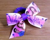 Elastico per capelli Violetta rosa : Accessori per capelli di latipadeltappo