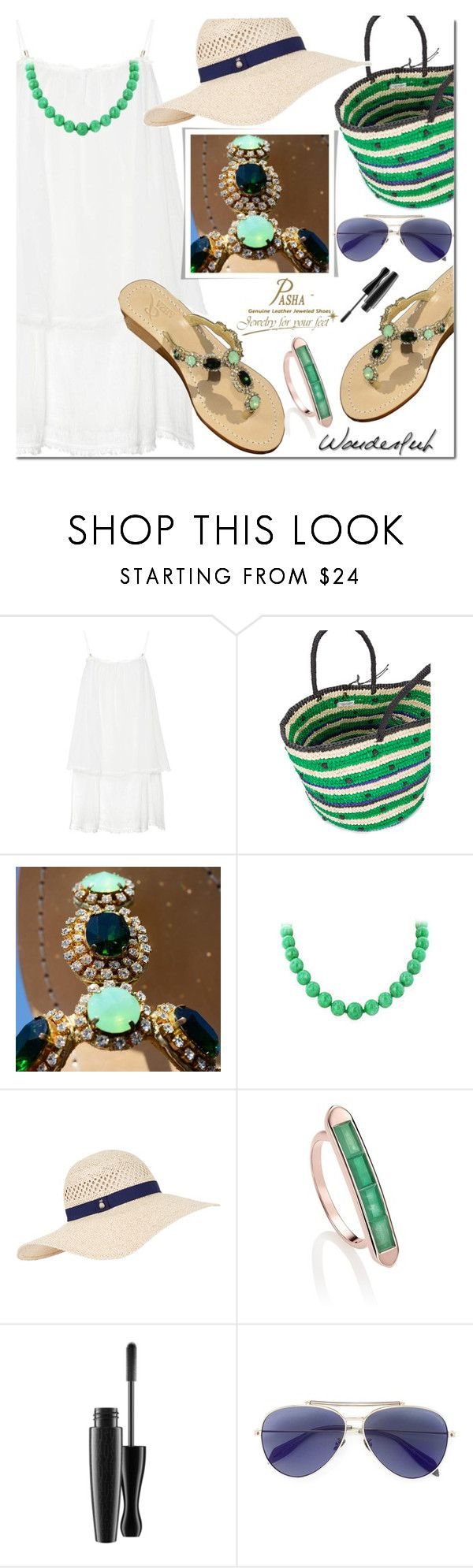 Jewelry Shoes Pasha by mada-malureanu on Polyvore featuring Heidi Klein, Sensi Studio, Monica Vinader, Accessorize and Alexander McQueen
