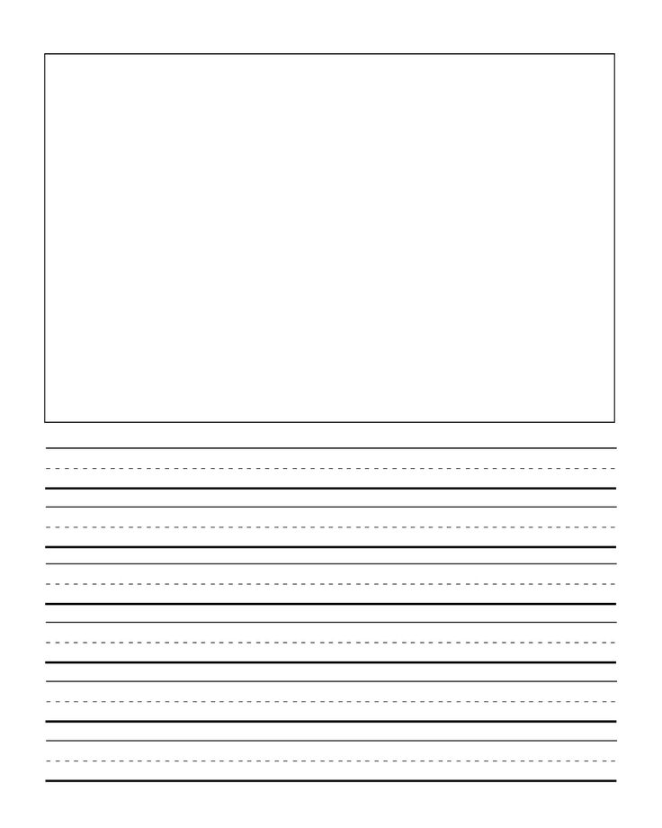 277 best Explode the Code images on Pinterest Teaching ideas - printable writing paper template