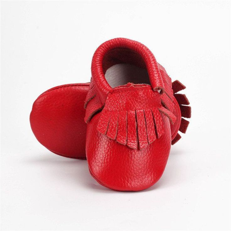 100% Handmade Genuine Cow Leather Baby Moccasins - The Baby Moccs - TheBabyShoppie