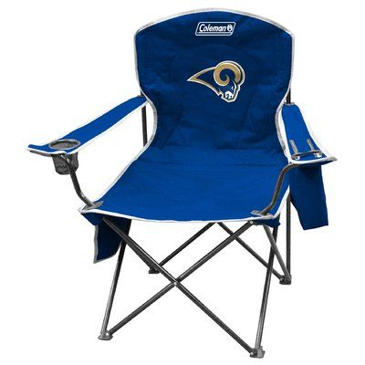 Jarden Consumer Solutions Rawlings NFL Tailgate Folding Chair NFL Team: Los Angeles Rams