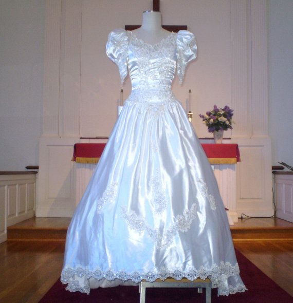 Vintage Wedding Dresses Under 1000: 1000+ Images About 1980s Wedding Gowns On Pinterest
