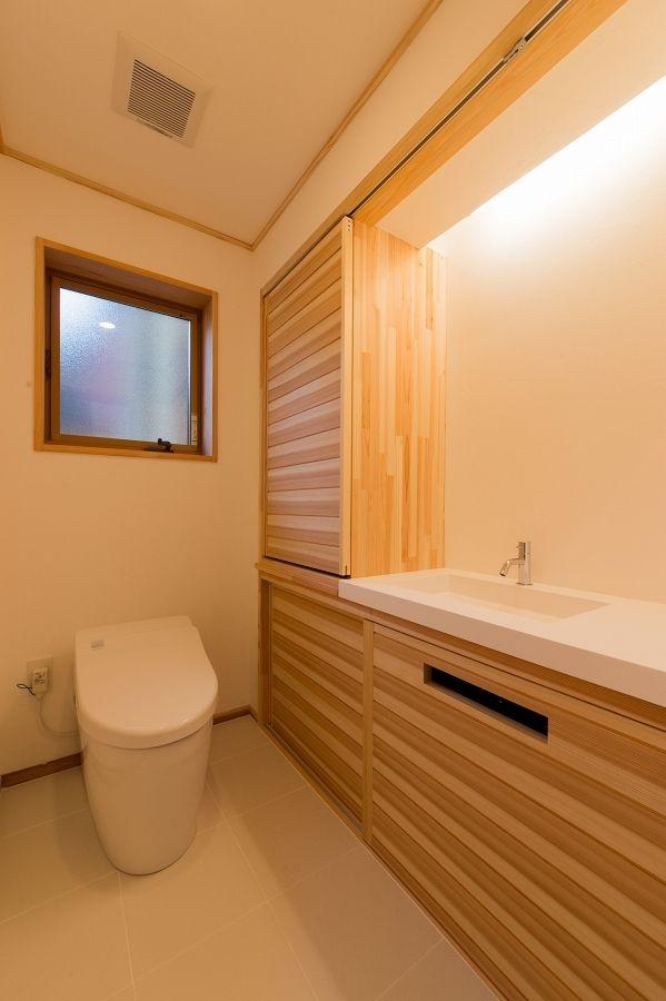 トイレの施工事例 フォトギャラリー 小松市のハウスメーカーは梶谷建設