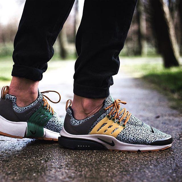 "Nike Air Presto SE QS ""Safari"" Release date : Unknow #Presto #Safari #Atmos #sneakerhead #kicksonfire #reebok"