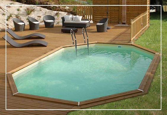 Les 25 meilleures id es concernant piscine resine sur for Piscine bois auchan