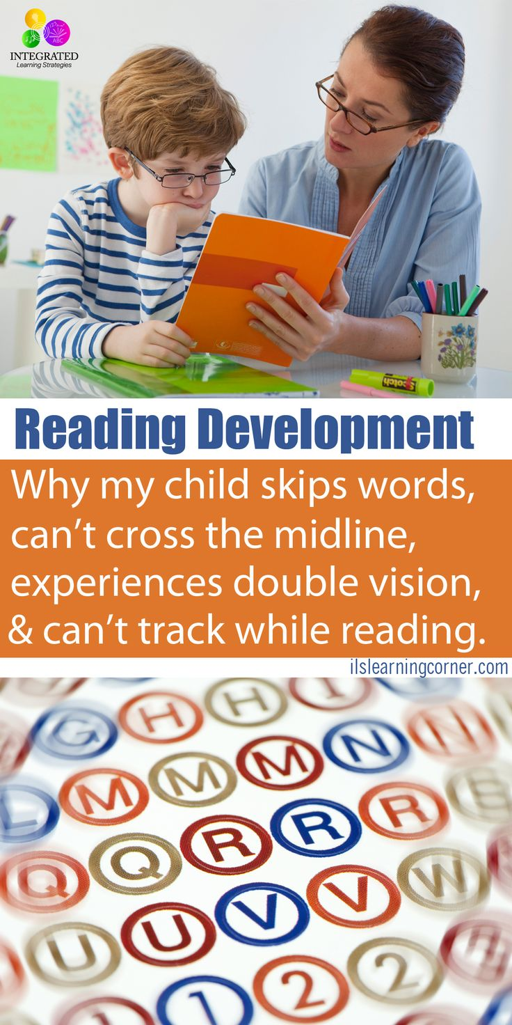 Oculomotor Dysfunction: Why my Child Skips Words, Can't Cross the Midline, Experiences Double Vision | ilslearningcorner.com