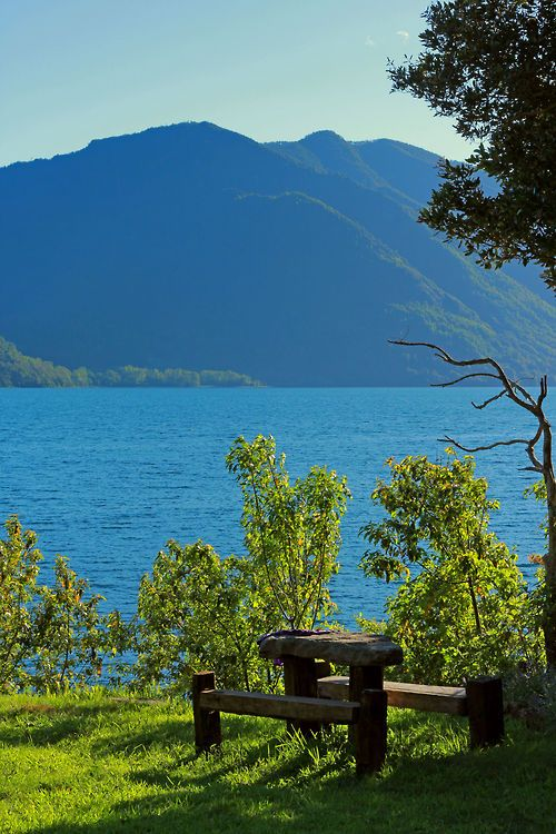 Lago Colico, Región de la Araucanía, Chile