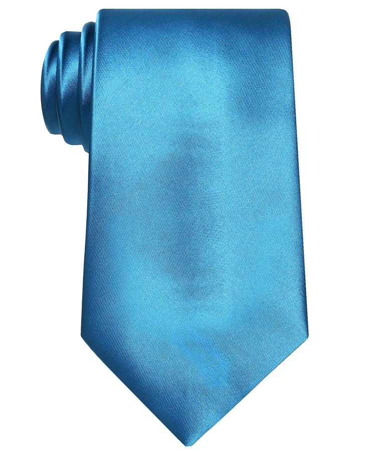 John Ashford Tie, Machine Washable Solid - Mens Ties - Macy's