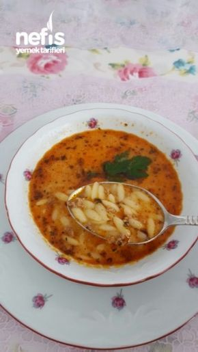 Kıymalı Şehriye Çorbası ( Bol Vitamin )