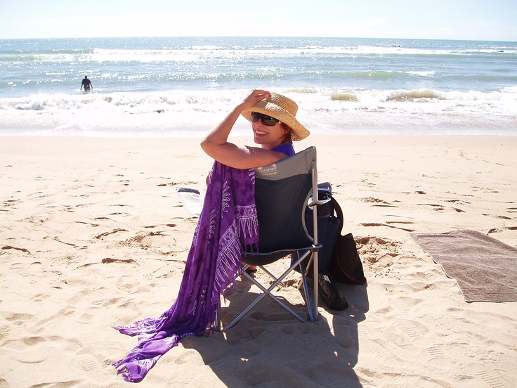 Relaxing at Agnes Water - Queensland 2010