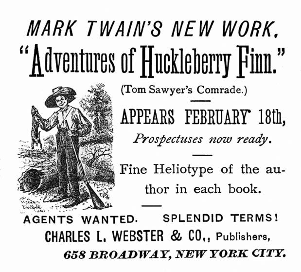 a look at the superstitions in huckleberry finn by mark twain Buy huckleberry finn by mark twain (isbn: 9780883010983) from amazon's book store everyday low prices and free delivery on eligible orders.