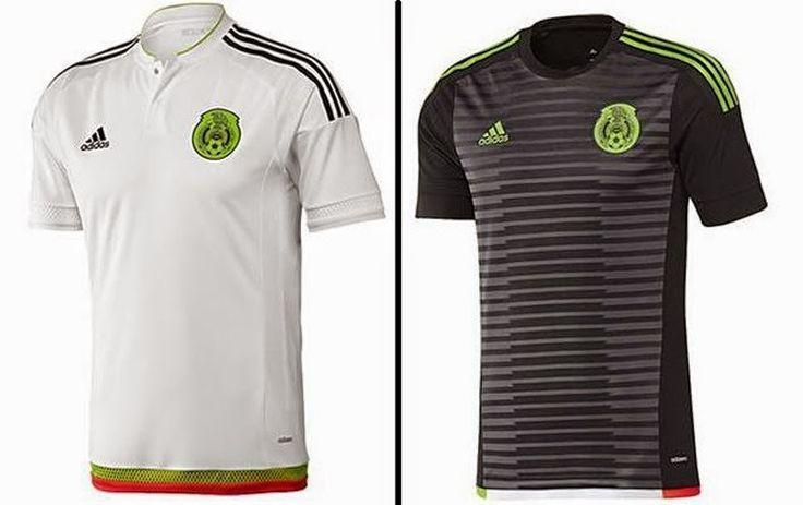 Nuevas camisetas de futbol 2014 2015 2016: Nueva camiseta de México para la Copa América Chile 2015
