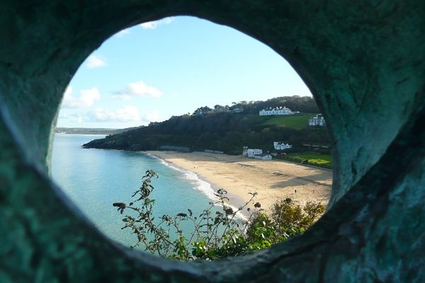 St Ives through the iconic Barbara Hepworth sculpture
