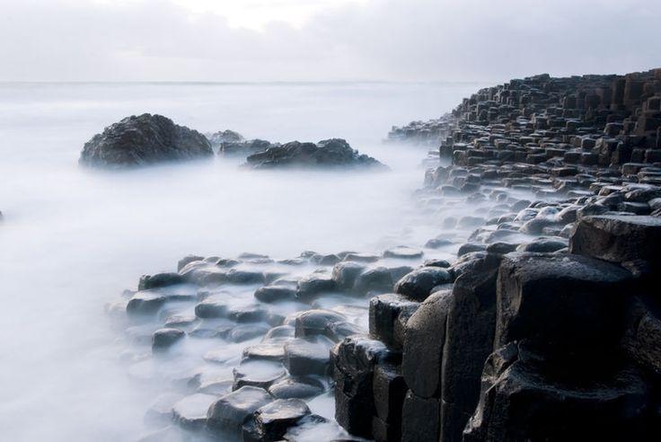 Giants Causeway in Noord-Ierland (Bushmills)