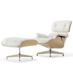 HermanMiller(ハーマンミラー)「Eames Lounge Chair & Ottoman」ホワイトアッシュ【取寄せ品】[267ES67071RE1R01]