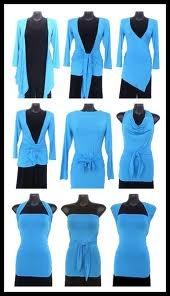multi-wear top, work cardi to summer night on the town #diy
