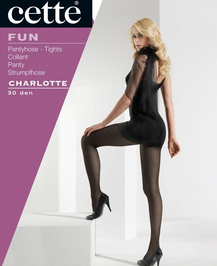 Cette Charlotte Polka Dot Tights