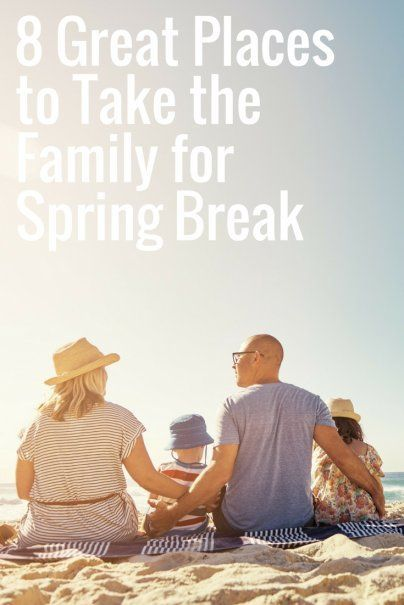 8 Great Places to Take the Family for Spring Break | Spring Break Ideas | Top Spring Break Destinations | Orlando, Florida | Tampa, Florida | Orange Beach, Alabama | Myrtle Beach, South Carolina | South Padre Island, Texas | Gatlinburg, Tennessee | Atlantic City, New Jersey | San Diego, California | Frugal Spring Break Spots | Cheap Vacation Destinations