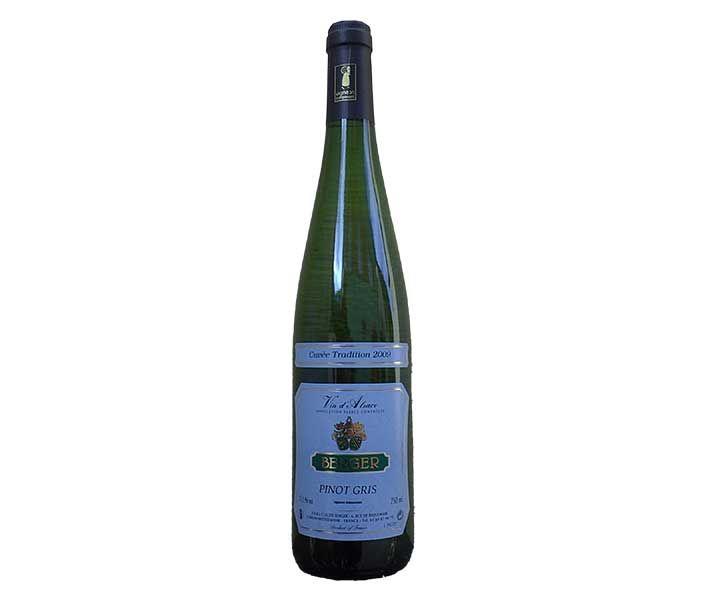 Pinot Gris Cuvée Tradition 2009 - Vignobles Berger - #Alsace