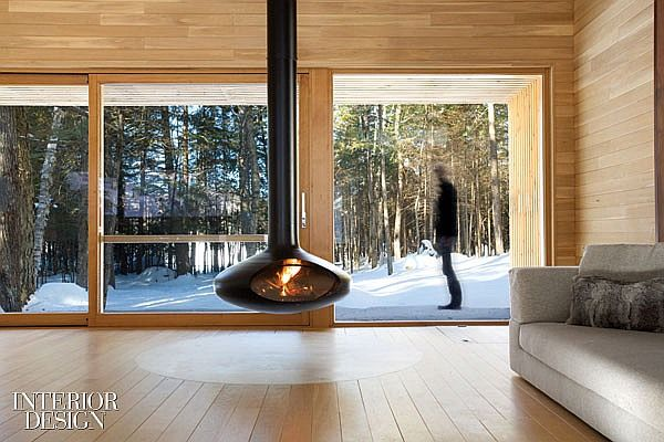 Northern Exposure: A Modern Mountain Chalet in Quebec | Projects | Interior Design