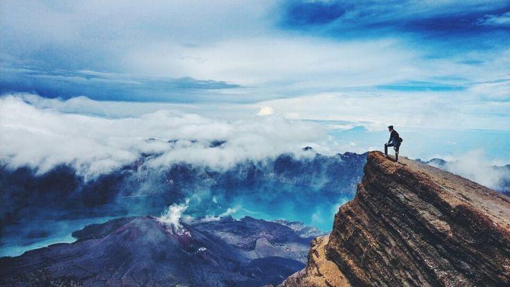 New mountain at Mt.Rinjani, Lombok, Indonesia