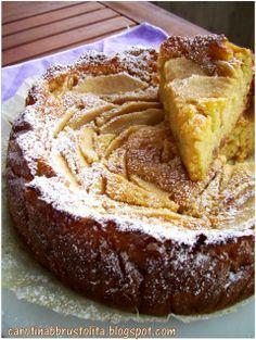 Carotina abbrustolita: Torta morbida di miglio e mele