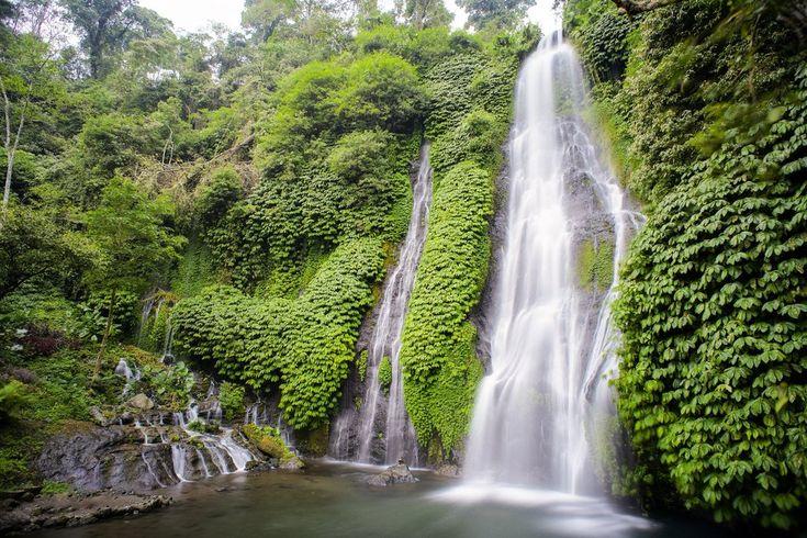 Air Terjun Banyumala Eksotisnya Air Terjun Tersembunyi di Buleleng Bali - Bali
