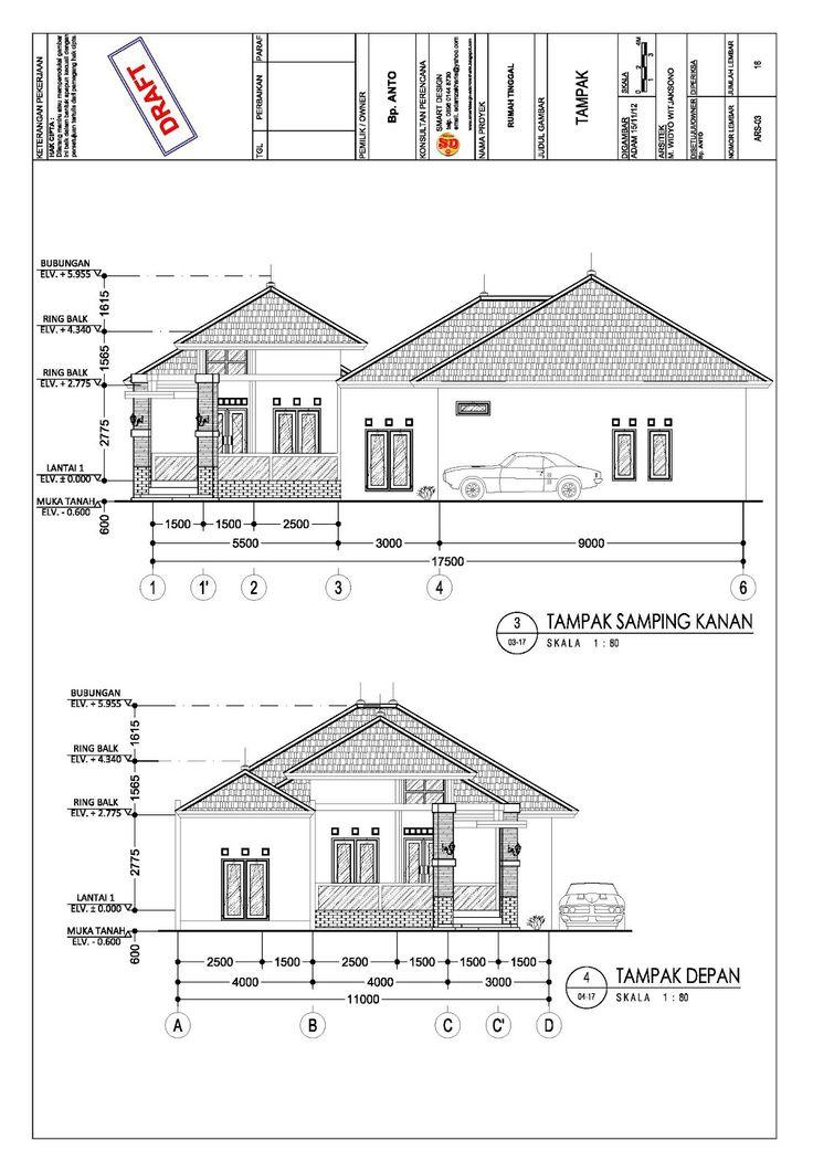 Gambar Kerja Proyek Rumah 4