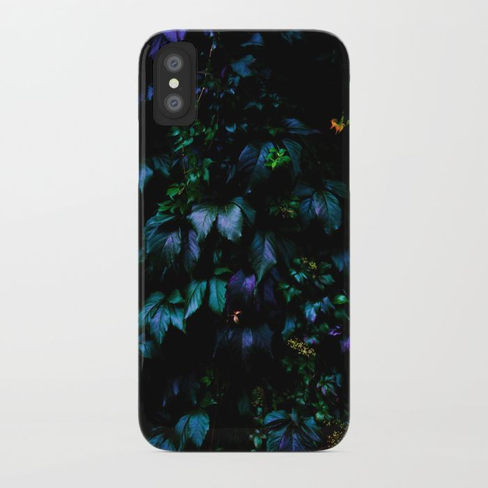 Welcome to the Jungle iPhone Case. Protect your iPhone with a one-piece, impact resistant, flexible plastic hard case featuring an extremely slim profile. Simply snap the case onto your iPhone for solid protection and direct access to all device features. #forest #nature #jungle #floral #botanical #dark #magical #colorful #iphone #case #iphonex