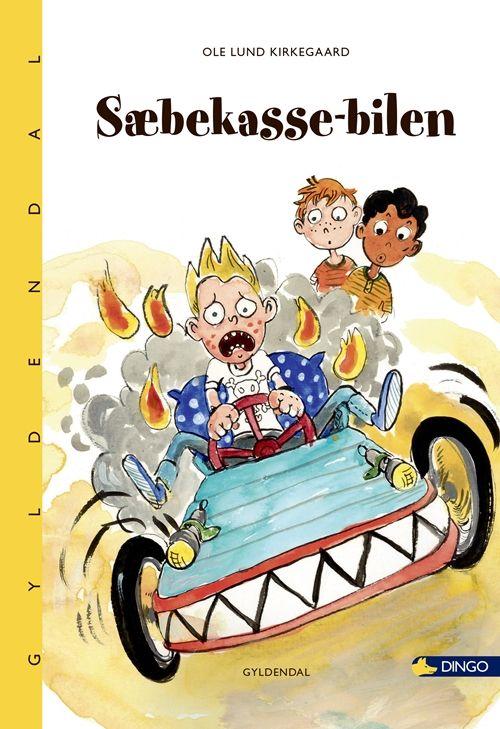 Sæbekasse bilen. Soapbox car. Published after his death