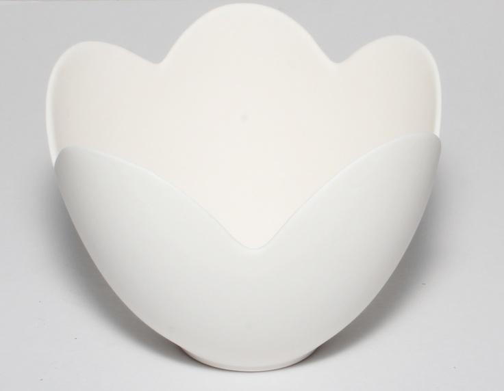 Porcelain Lotus Bowl